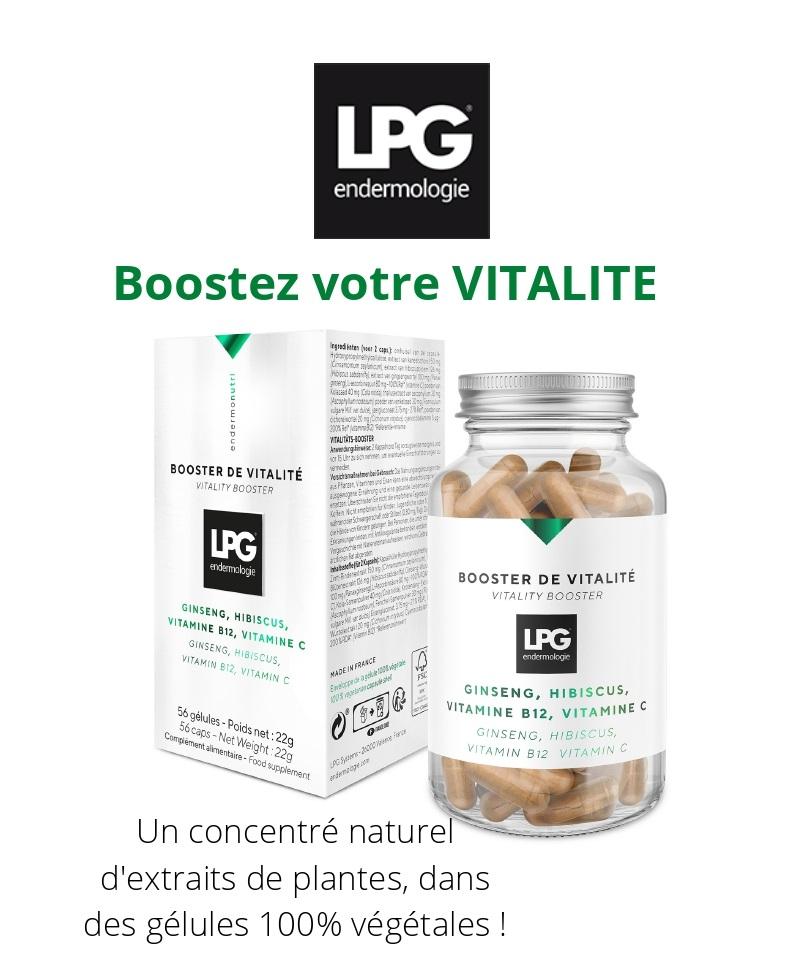 Boostez votre vitalité avec les compléments alimentaires LPG endermologie